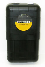 Cohiba Emblem 8 Cigar Travel Humidor Case with Humidifier Hygrometer Cedar