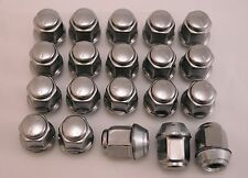 20 New Chrysler Lebaron Plymouth Voyager Factory OEM Stainless Lug Nuts 12x1.5