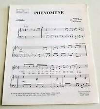 Partition vintage sheet music GUESH PATTI : Phénomène * 90's
