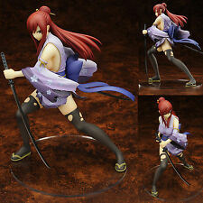 Anime Fairy Tail Erza Elza Scarlet Battle Ver. 1/7 Figure Pre-Painted New in Box