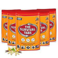 Military Meal Reserve MRE Vanilla Rice Camping Outdoor Food Combat 240-Hour