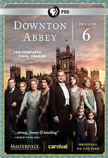 Downton Abbey: Sixth Season 6, New (DVD, 2015, 3-Disc Set)  Three Bonus Episodes