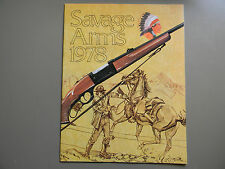 1978 Savage Arms, Ammunition & Accessories Brochure- 35 Pages-Excellent Conditon