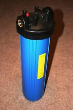 "Big Blue 20"" Whole House Water Filter System with Pressure Release (1"" Port)"