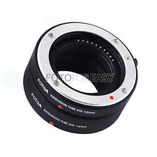 Auto Focus Macro Extension Tube Set for FujiFilm Fuji X-E2 X-M1 X-Pro 1 FX Mount
