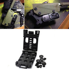 EDC Multifunction Clip Waist Clip Back with The K Sheath Scabbard Tools Outdoor