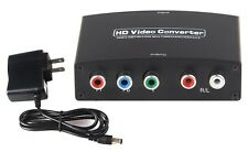 HDMI to YPbPr/5RCA/Component RGB Video + R/L Audio Converter Adaptor 1080P