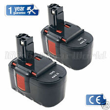 2x 24V 2.0Ah Battery for Bosch 24 Volt PSB 24VE-2 BAT031 BTP1005 Cordless Drill