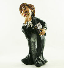 Lady Judge Figure Law Court Statue Female Barrister lawyer Solicitor Cake Topper