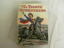 The Three Musketeers 1956 Whitman Publishing Pictorial HC Illustrated