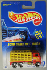 Hot Wheels 1:64 Scale 1992 Series FORD STAKE BED TRUCK (HURRICANE SPOKES)