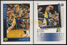 NBA UPPER DECK 1993/94 - Rik Smits # 94 - Pacers - Ita/Eng - MINT