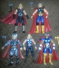 Marvel Universe 3.75 MU Lot of 5 Avengers Thor, Beta-Ray Bill Action Figures
