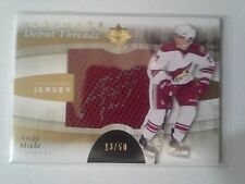 2011-12 UD Ultimate ANDY MIELE Rookie RC Autograph Jersey #d/50 Coyotes