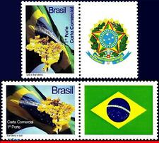 3080M-N BRAZIL 2009 PERSONALIZED IPE WOOD VE & HO, MAPS, FLAGS,COAT OF ARMS,MNH