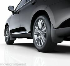 Genuine Lexus RX450h 2012  Complete Mudflap Set Front & Rear Mudflaps New