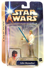 MOC Star Wars ANH LUKE SKYWALKER Tatooine Encounter Saga Gold Hasbro 2003 Japan