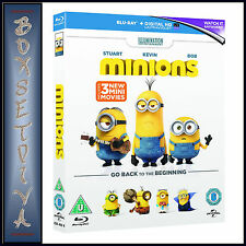 MINIONS - PLUS 3 NEW MINI MOVIES  *BRAND NEW BLU-RAY**