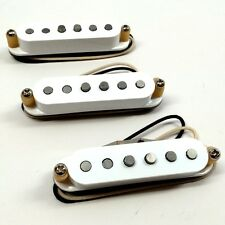 Bare Knuckle Trilogy Suite Single Coil Pickup Set RW/RP Polarity White Covers
