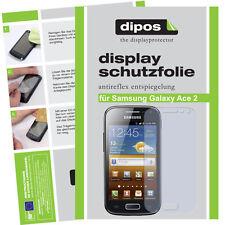 5x Samsung Galaxy Ace 2 Protector de Pantalla protectores mate