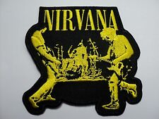 nirvana  live  EMBROIDERED  PATCH IRON OR SEW