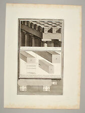 Giovanni B. PIRANESI Rom 1761 Architektur