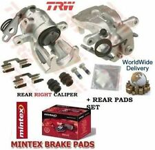 FOR FORD FOCUS 2.5 ST TURBO RS 2005   REAR RIGHT SIDE BRAKE CALIPER + DISC PADS
