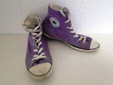 Converse All Star Chucks Sneaker Scarpe Da Ginnastica High Taylor in tessuto viola tg. 5,5/39