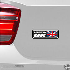(1125) Fun Sticker Aufkleber / Made in UK / England Union Jack