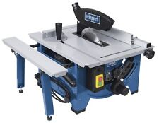 "SCHEPPACH HS80 240v 8"" BENCH TOP TABLE SAWBENCH C/W SLIDING SLID EXTENSION"