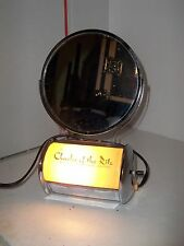 Vintage Charles of the Ritz Make-Up / Vanity Mirror with Light and Plug – Works!