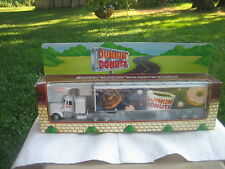 1995 Dunkin Donut tractor trailer o scale 027 gauge w/free cannabis coin