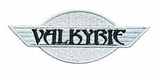 VALKYRIE SW BL EMBROIDERED IRON ON PATCH Aufnäher Parche brodé patche toppa F6C