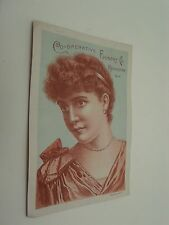 """Co-Operative Foundry Co """"Red Cross"""" Range Rochester NY Lovely Lady Pearls"""