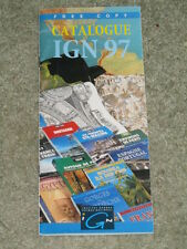 France IGN catalogue of maps and guides - 1997 edition