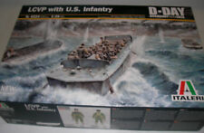 Italeri 6524 - LCVP With US Infantry - 1:35 Scale Plastic Kit Ship