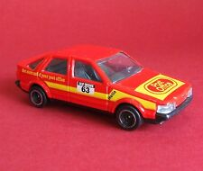1980's Corgi 1/43? SAAB 9000 Post Office Racing Car Super