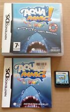 Aqua Panic Game For Ds Dsi Ds Lite 3Ds Nintendo Complete **99p UK P&P**