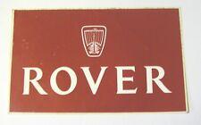 VECCHIO ADESIVO AUTO / Old Sticker LAND RANGE ROVER (cm 14x9)