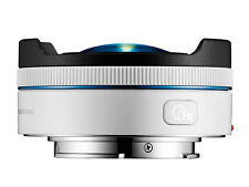 Samsung NX 10mm F3.5 Fisheye lens in White ex-display