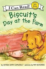 Biscuit's Day at the Farm (My First I Can Read)-ExLibrary