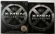 MARVEL X-MEN COLLECTION BLU RAY + SLIPCOVER 6 MOVIES DIGIBOOK 7 DISC SET BONUS