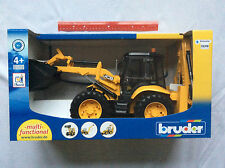 BRAND NEW Bruder Toy Construction 1/16 Scale JCB 5CX Eco Backhoe Loader 02454