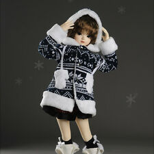 Dollmore 1/4 BJD doll clothes outfits MSD SIZE - Snow Flora Jumper (Navy)
