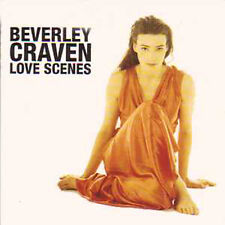 CD single Beverley CRAVEN  Love scenes 2 tracks card sleeve RARE EDITION