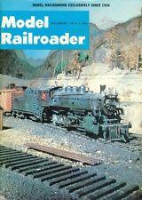 1972 Model Railroader Magazine: World Models 1973/Aging With Chalk/Lehigh & Ohio