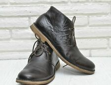 UGG Men's LEIGHTON CHUKKA DESERT Leather Boots Brown Lace Up US 14  EU 48.5