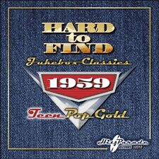 1959: Teen Pop Gold - Hard To Find Jukebox Classics (2010, CD NEUF)