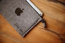 NUOVO IPAD MINI 4 / 1 / 2 Retina SLEEVE BORSA CUSTODIA-ZIP-iPad Mini