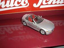 SCHUCO BMW Z 4 CABRIO silber  ältere Schuco Serie 1:43